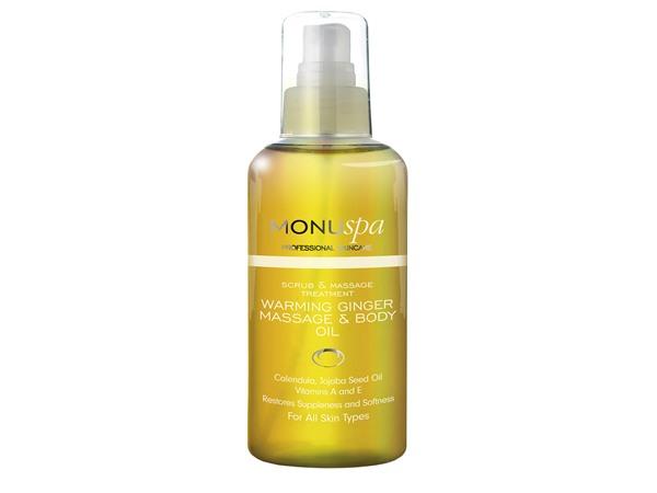 MONU spa Warming Ginger Body Oil
