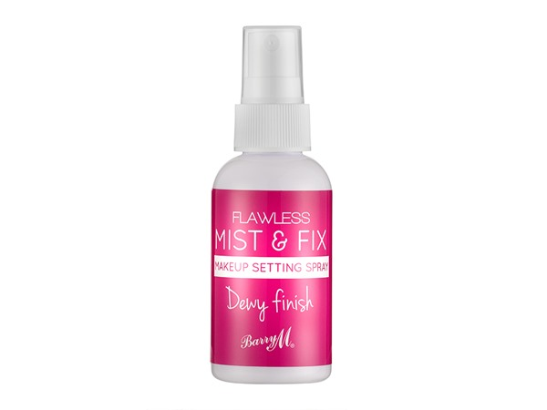 Barry M Flawless Mist & Fix Makeup Setting Spray Dewy