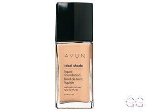 Avon Ideal Shade Natural Liquid Foundation