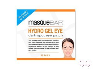 MasqueBAR Hydro Gel Eye Patches - 30 pair