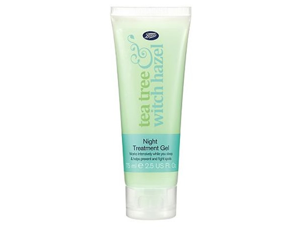 Boots Tea Tree and Witch Hazel Night Gel