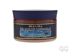 Dead Sea Body Scrub with Frankincense Oil