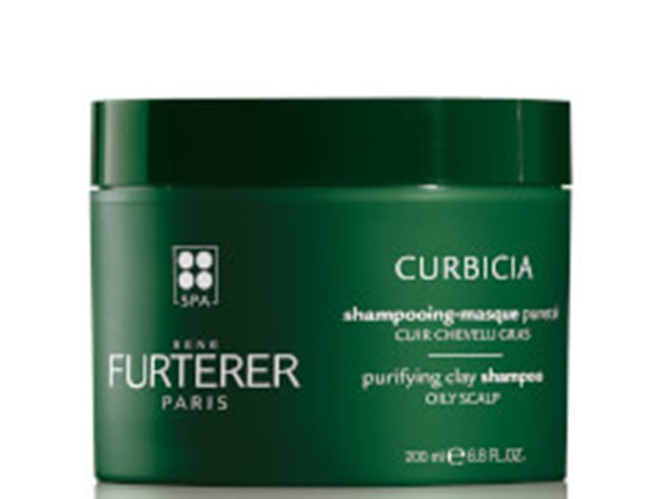 Rene Furterer Curbicia Purifying Shampoo-Mask with Absorbent Clay For Oily Scalp