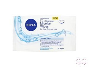 Nivea Visage 3 in 1 Cleansing Micellar Face Wipes 25's