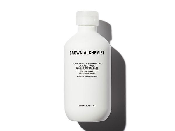 Grown Alchemist Shampoo: Damask Rose, Black Pepper & Sage