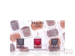 Nailed London with Rosie Fortescue Instant Glamour Trio 3 x
