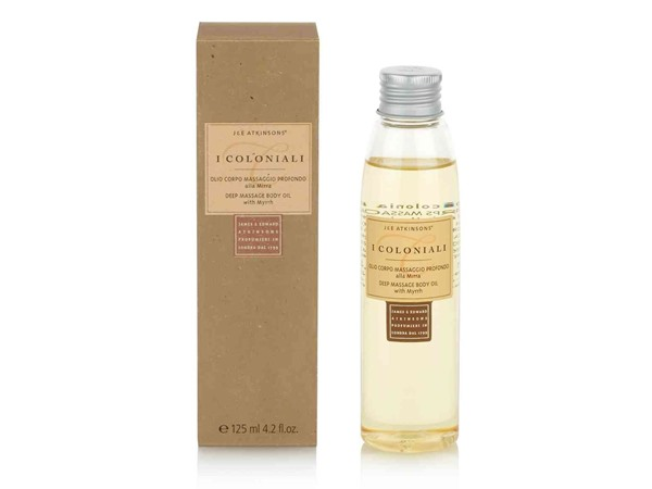 I Coloniali Deep Massage Body Oil With Myrrh