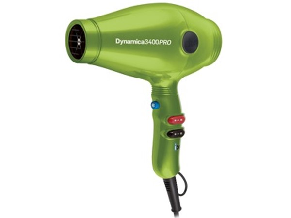 Diva Professional Styling Dryers Dynamica Lime Green 3400