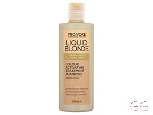 Liquid Blonde PRO:Voke  Colour Activating Treatment Shampoo