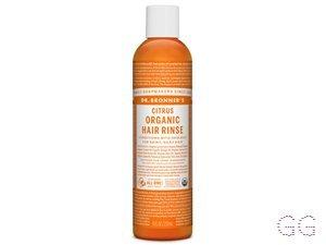 Dr. Bronner Organic Citrus Hair Conditioner Rinse