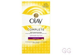 Olay Complete care day uv fluid SPF15