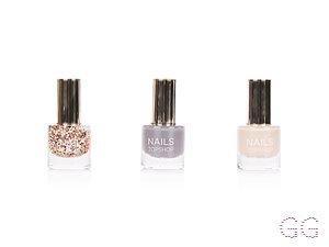 Topshop Glitter Mini Nail Polish Trio, Multi