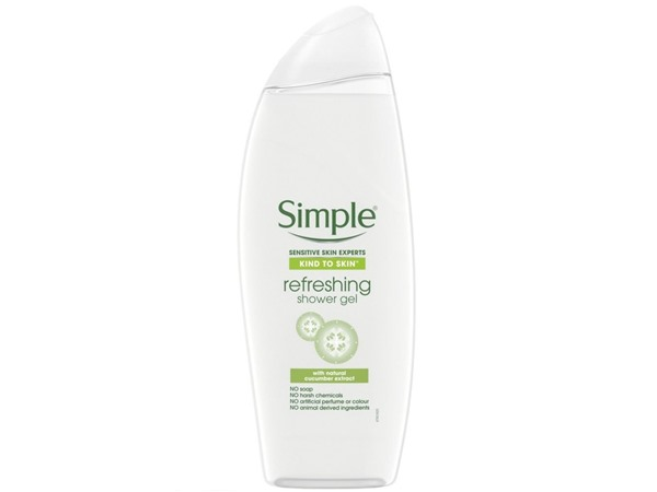 Simple Kind To Skin Refreshing Shower Gel