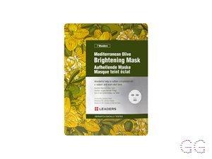 Leaders 7 Wonders Mediterranean Olive Brighten Sheet Mask