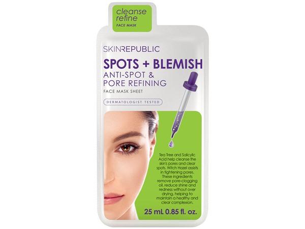 Skin Republic Spots and Blemish Sheet Mask