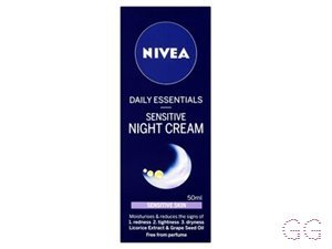 Nivea Visage Daily Essentials Sensitive Night Cream (Ivory)