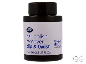 Boots Nail Polish Remover Dip and Twist Pot