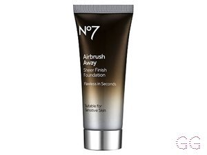 NO7 Airbrush Away Sheer Foundation