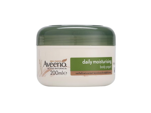 Aveeno Daily Moisturising Vanilla (White) And Oats Yogurt Cream