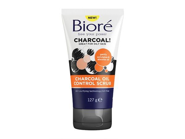 Biore Charcoal Oil Control Scrub