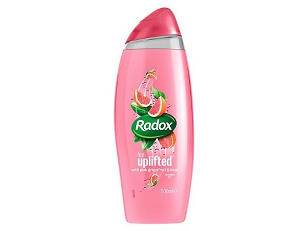 Radox Uplifting Pink Grapefruit & Basil Shower Gel