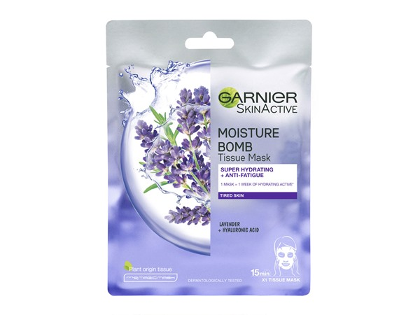 Moisture Bomb Lavender Sheet Mask