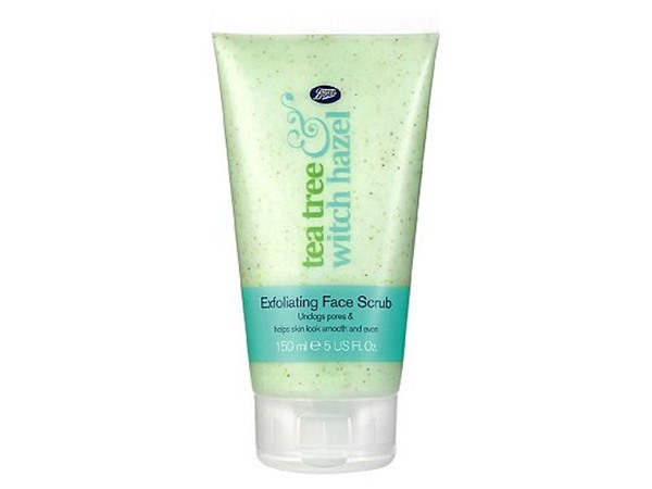 Tea Tree & Witch Hazel Exfoliating Face Scrub