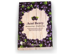 Acai Berry Moisturising & Brightening Sheet Mask - Acai Berry
