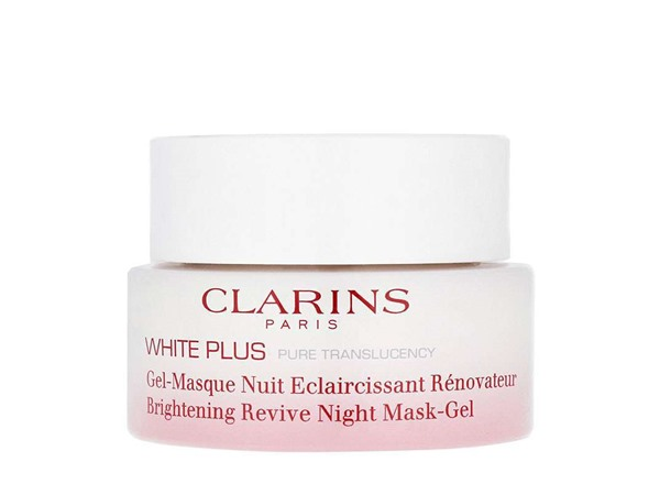 Clarins White Plus Brightening Revive Night Mask-Gel
