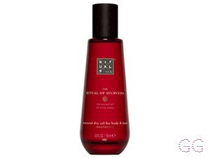 The Ritual Of Ayurveda Natural Dry Oil For Body & Hair