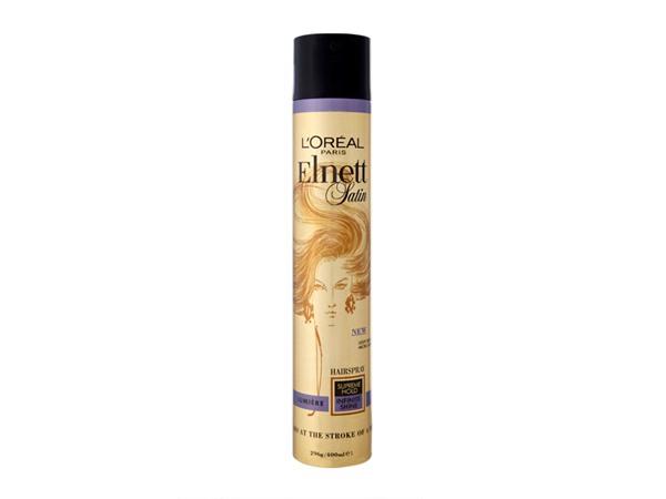 L'Oreal Elnett Satin Hairspray Lumière Supreme Hold