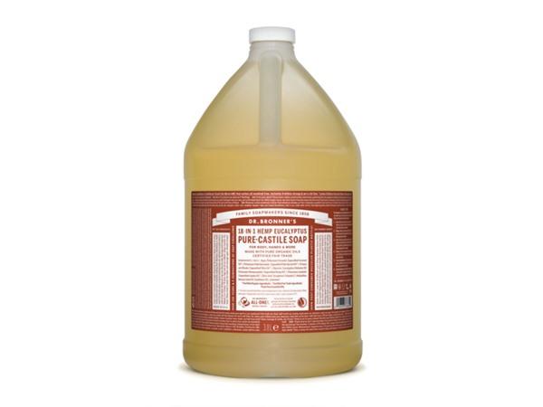 Organic Eucalyptus Castile Liquid Soap