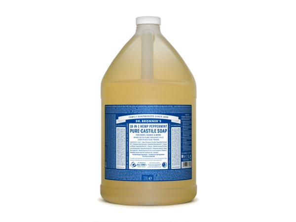 Organic Peppermint Castile Liquid Soap