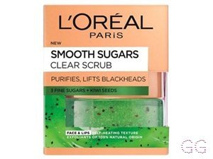 Smooth Sugar Clear Kiwi Face & Lip Scrub
