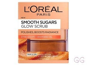 Smooth Sugar Glow Grapeseed Face And Lip Scrub