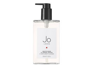 Jo Loves White Rose & Lemon Leaves A Hand & Body Cleanser