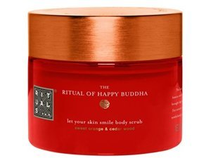 The Ritual Of Happy Buddha Let Your Skin Smile Body Scrub