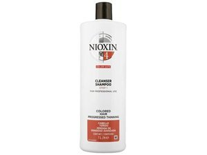 System 4 Cleanser Shampoo For Coloured Hair With Progressed Thinning