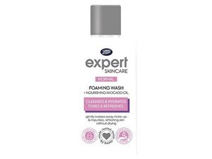 Boots Expert Normal Foaming Face Wash + Nourishing Avocado Oil