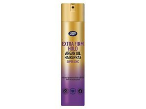 Boots Extra Firm Hold Argan Oil Hairspray