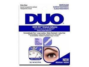 Quick Set Striplash Adhesive Eyelash Glue Clear