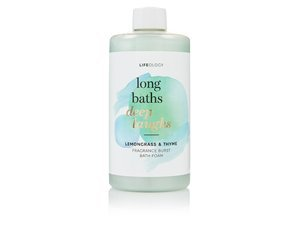 M&S Lemon Grass & Thyme Fragrance Burst Bath Foam