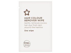 Hair Colour Remover Wipe Clear