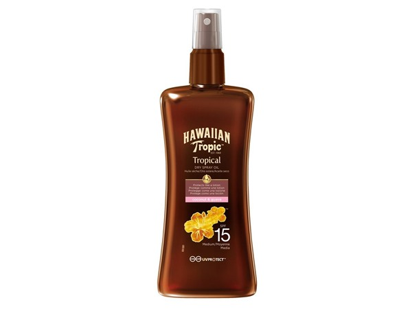 Hawaiian Tropic Protective Dry Spray Oil