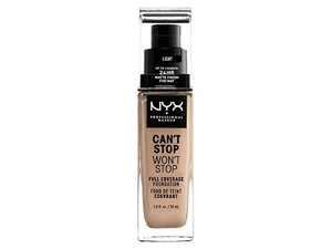 NYX Cant Stop Wont Stop Full Coverage Liquid Foundation