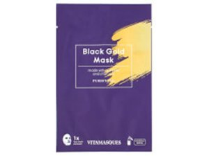 Vitamasques Black Gold Dust Sheet Mask