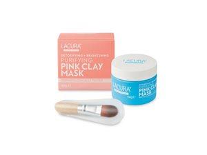 Lacura Detoxifying + Brightening Purifying Pink Clay Mask