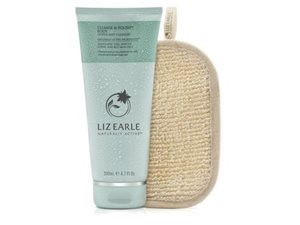 Cleanse And Polish Body With Gentle Mitt