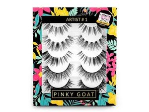 Pinky Goat Silk False Eyelashes Pack Artist 1