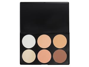 6 Color Contour Palette Powder Base